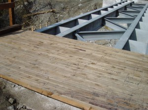 Benmore Bridge Glue & screw deck