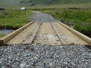 Glen Prosen SLT lorry bridge